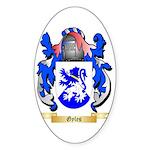 Gyles Sticker (Oval)