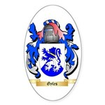 Gyles Sticker (Oval 50 pk)