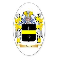 Gwyn Sticker (Oval)