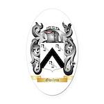 Gwilym Oval Car Magnet