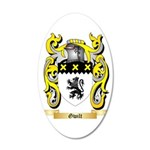 Gwilt 35x21 Oval Wall Decal