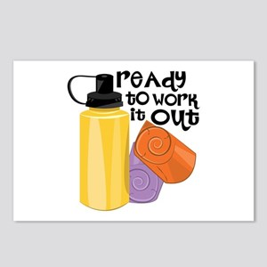 Ready To Workout Postcards (Package of 8)