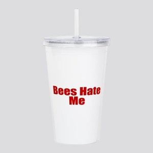 Bees Hate Me Acrylic Double-wall Tumbler