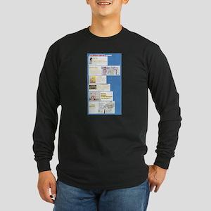 The Characters Long Sleeve Dark T-Shirt