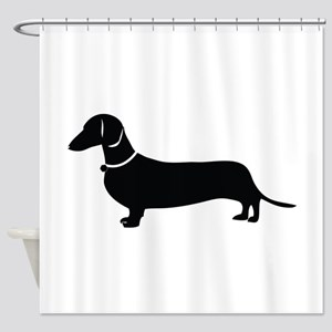 Weiner Dog Shower Curtain