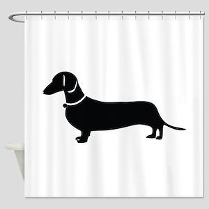 Weiner Dog Shower Curtain