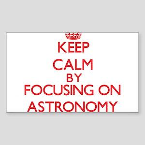 Astronomy Sticker