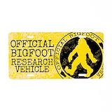 Bigfoot License Plates