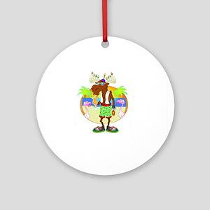Miami Chanu-A-Moose Ornament (Round)