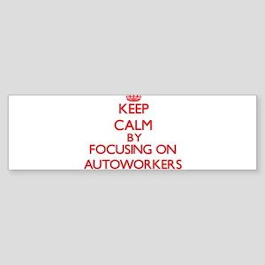 Autoworkers Bumper Sticker