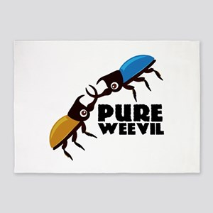 Pure Weevil 5'x7'Area Rug