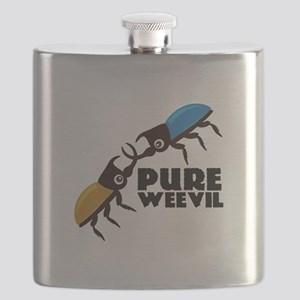 Pure Weevil Flask