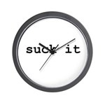 you can suck it Wall Clock