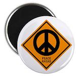 Peace Ahead Magnet