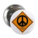 Peace Ahead Button