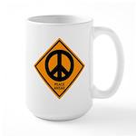 Peace Ahead Large Mug