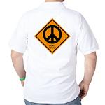 Peace Ahead Golf Shirt