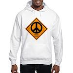 Peace Ahead Hooded Sweatshirt