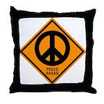 Peace Ahead Throw Pillow
