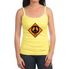 Peace Ahead Jr. Spaghetti Tank