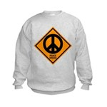 Peace Ahead Kids Sweatshirt