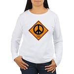 Peace Ahead Women's Long Sleeve T-Shirt