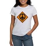 Peace Ahead Women's T-Shirt