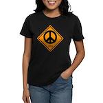Peace Ahead Women's Dark T-Shirt