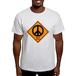 Peace Ahead Light T-Shirt