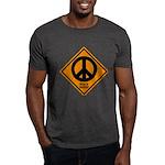 Peace Ahead Dark T-Shirt