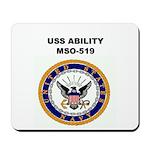 USS ABILITY Mousepad