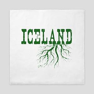 Iceland Roots Queen Duvet