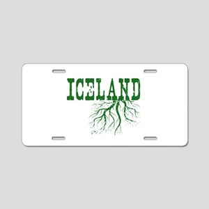 Iceland Roots Aluminum License Plate