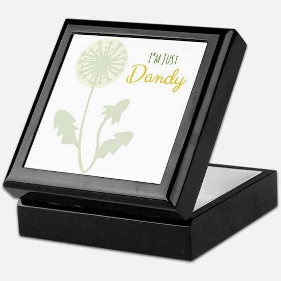 Im Just Dandy Keepsake Box