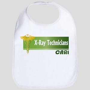 X-Ray Technicians Care Bib