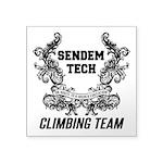 Sendem Tech Climbing Team Square Sticker 3