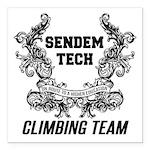 Sendem Tech Climbing Tea Square Car Magnet 3