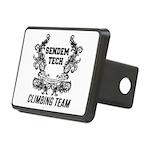 Sendem Tech Climbing Team Rectangular Hitch Cover