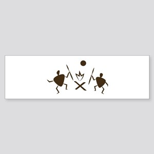 Campfire Dance Bumper Sticker
