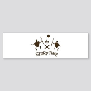 Story Time Bumper Sticker