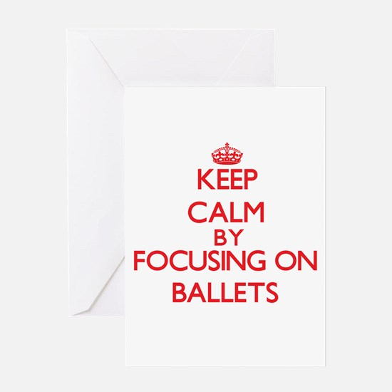 Ballets Greeting Cards