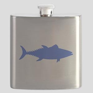 Blue Tuna Fish Flask