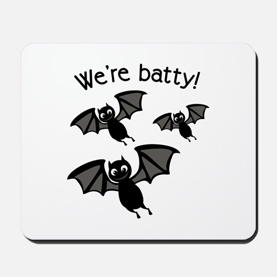 Were Batty Mousepad