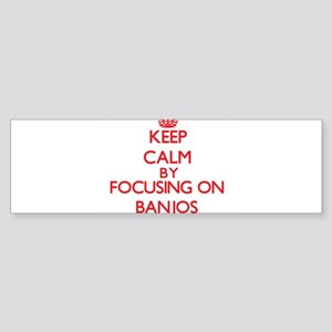 Banjos Bumper Sticker