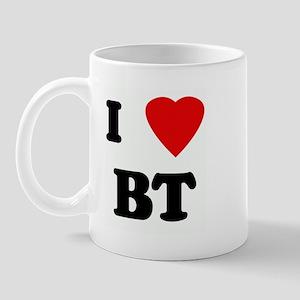 I Love BT Mug