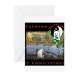 WMC Calming by Consistency Greeting Cards