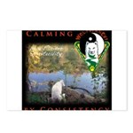 WMC Calming by Consistency Postcards (Package of 8