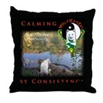 WMC Calming by Consistency Throw Pillow