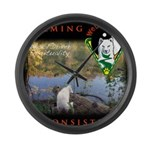 WMC Calming by Consistency Large Wall Clock