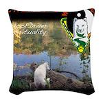 WMC Calming by Consistency Woven Throw Pillow
